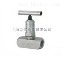 针型阀-J11W美标内螺纹针型阀 螺纹针型阀 压力表针型阀 法兰针型阀