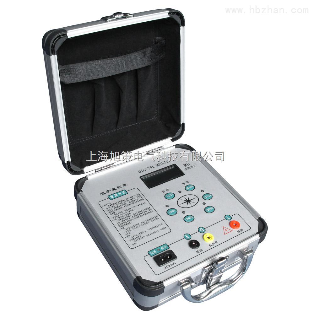 by2671数字绝缘电阻测试仪 本表采用中大规模集成电路,由机内电池作为