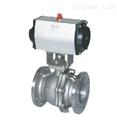 Q641F/PPL型不鏽鋼氣動浮動球閥
