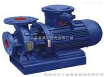 ISWH化工不鏽鋼管道泵,臥式不鏽鋼管道化工泵