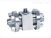 对焊连接高压锻钢球阀