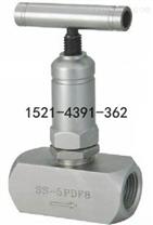 美标内螺纹针型阀J11W、J13W、SS-5PDF8