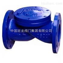 HC44X(SFCV)型橡胶瓣式止回阀,橡胶瓣止回阀,冠龙阀门