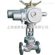 上海湖泉 J941電動法蘭截止閥