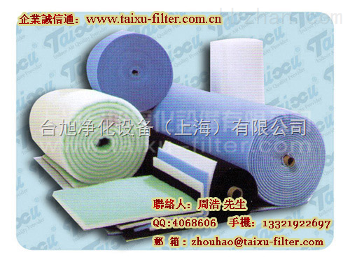 北京空气过滤棉、天津过滤棉