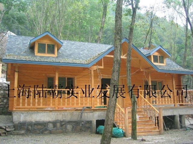 上海供应木屋小别墅-木结构钢亭-木质岗亭-专业厂家
