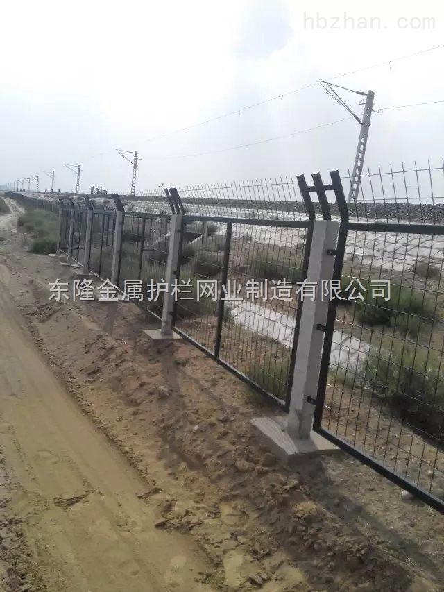 铁路桥下防护栅栏2012-8002