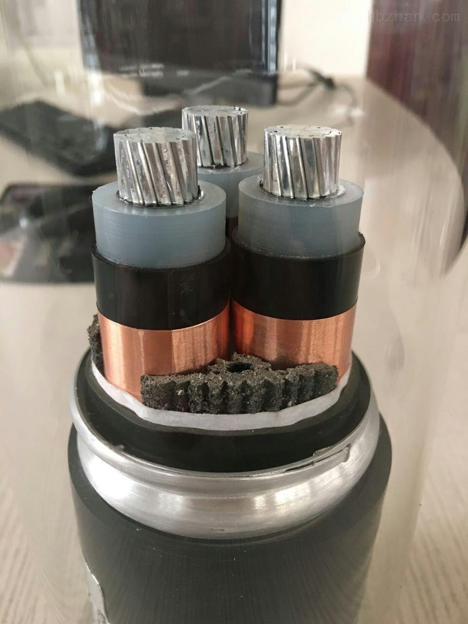 YJLHVS22 3*400铝合金电力电缆8.7/15KV电缆价格多少钱一米