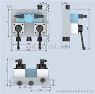 发电机组制动回路机组制动JZF集成制动阀组工作原理