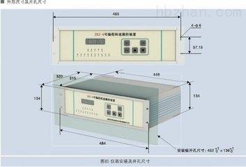 ZKZ-4可编程转速监控装置监测范围说明