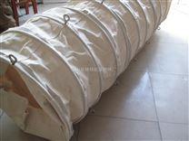煤粉输送伸缩软连接散装水泥伸缩袋