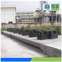 大型地磅安装-80吨电子汽车衡(3*15m)厂家