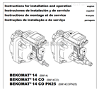 HP350M012德國BEKO貝克歐 油水分離器