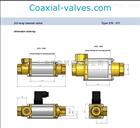 5-VMK15DR/5-VMK1德國考克斯COAX 5-VMK10;NC;G3/4;24DC
