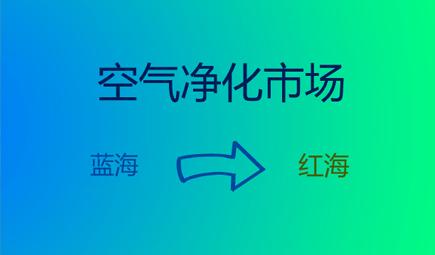 """""""蓝?!毖荼涑伞昂旌!?空气净化市场完成预热"""