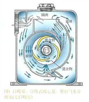 自吸泵工作原理图
