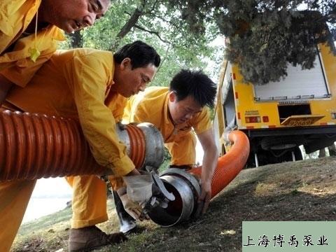 防汛抢险泵车案例