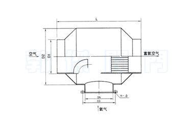 空气氧气混合器结构原理图图片