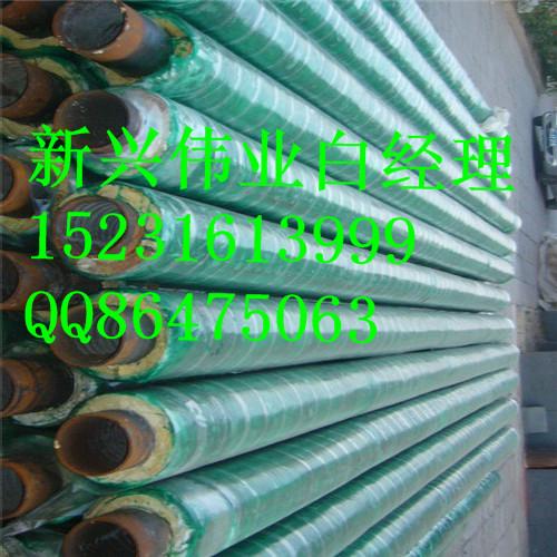 保温管结构图   预制保温管是由钢管