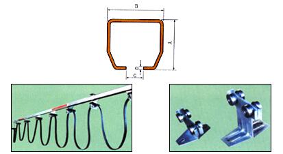 行车滑线接线实物图