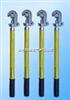 圆口螺旋压紧式接地线操作棒 短路接地线
