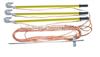 双舌弹簧紧式短路接地线JDX型