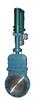 DMZ273X/F/H/Y电液动暗杆式刀形闸阀