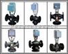 Siemens西门子混装三通电动温控阀