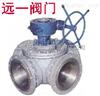 Q346F-10C/16C/P/R/RL蜗轮四通球阀